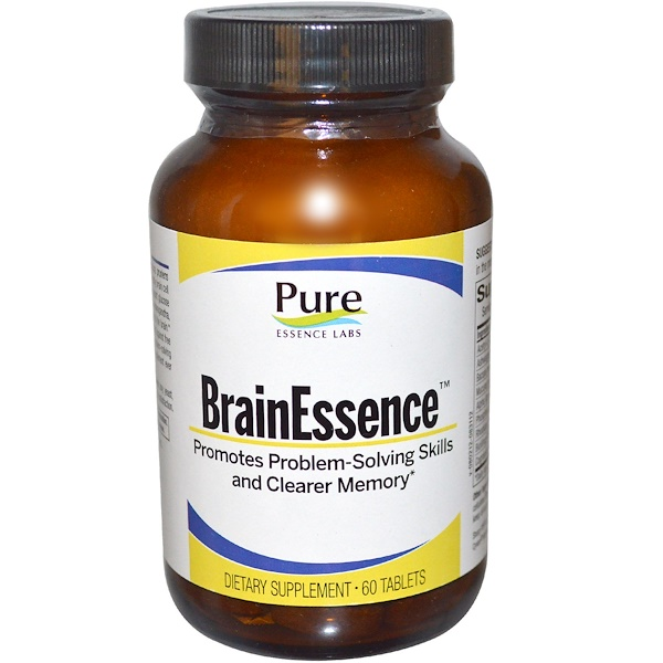 Pure Essence, BrainEssence, 60 Tablets (Discontinued Item)