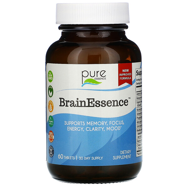 BrainEssence, 60 Tablets