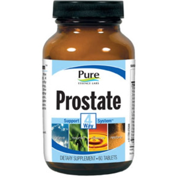 Pure Essence, Prostate, 4 Way Support System, 60 Tablets (Discontinued Item)