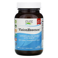 Pure Essence, VisionEssence™ 視力健康支持素食膠囊,60 粒裝