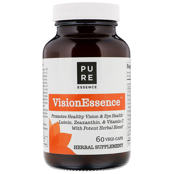 Pure Essence, VisionEssence, 60 Veggie Caps