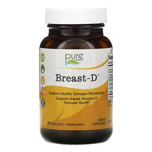 Пуре Есеенс, Breast-D, 30 Vegi-Caps отзывы покупателей