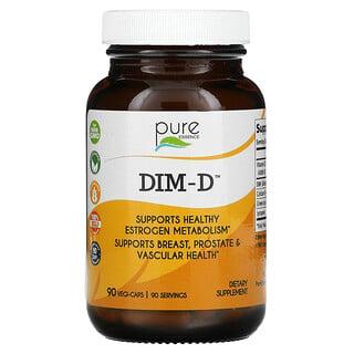 Pure Essence, DIM-D, 90 Vegi-Caps