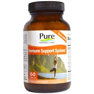 Pure Essence, Immune Support System, 60 Tablets