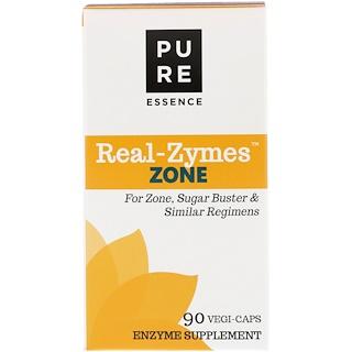 Pure Essence, Real-Zymes, Zone, 90 Vegi-Caps