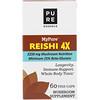 Pure Essence, MyPure, Cogumelo Reishi 4X, 60 Cápsulas Vegetais
