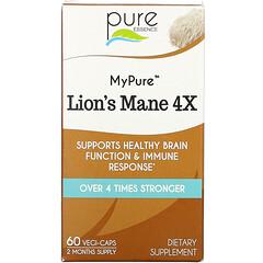 Pure Essence, MyPure,猴頭菇 4X,60 粒素食膠囊
