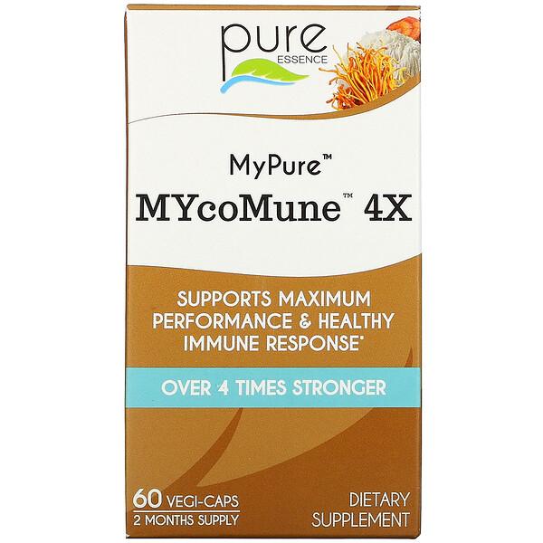 MyPure, MYcoMune 4X, 60 Vegi-Caps