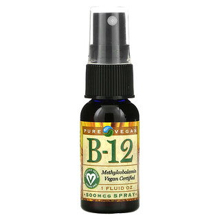 NB Pure, B-12 Spray, 500 mcg, 1 fl oz