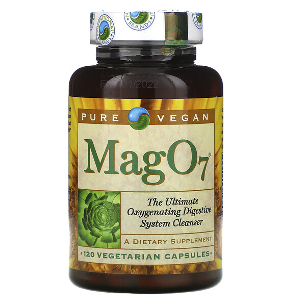 Mag 07, The Ultimate Oxygenating Digestive System Cleanser, 120 Vegetarian Capsules