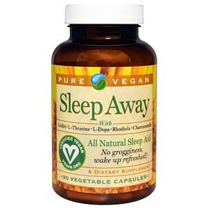 Пуре Веган, Sleep Away, 90 Veggie Caps отзывы