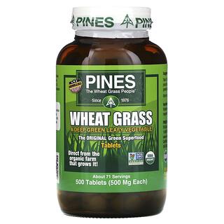 Pines International, пшеничные ростки, 500мг, 500таблеток