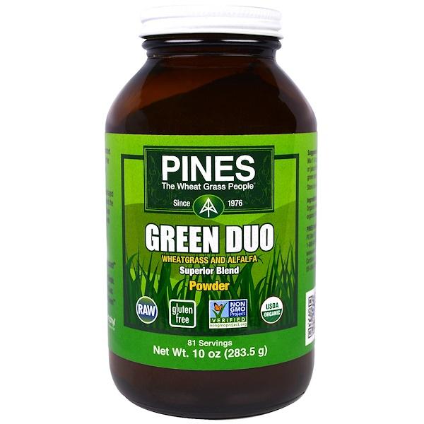 Pines International, Green Duo Powder, 10 oz (283.5 g) (Discontinued Item)
