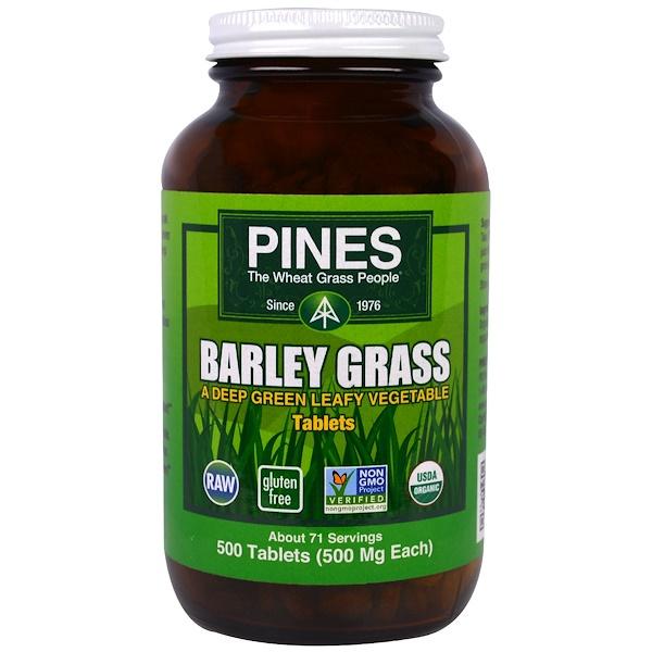 Barley Grass, 500 Tablets