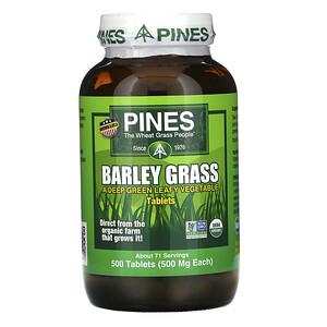 Пинес Интернатиональ, Barley Grass, 500 Tablets отзывы покупателей