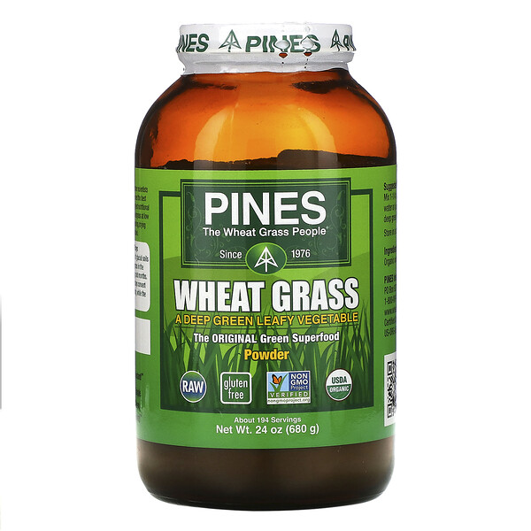 Pines Wheat Grass, Powder, 1.5 lbs (680 g)
