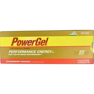 Повер Бар, Performance Energy Gel, Strawberry Banana Flavor, 24 Gel Packs, 1.44 oz (41 g) Each отзывы покупателей
