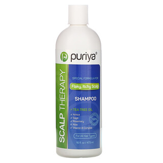 Puriya, Scalp Therapy Shampoo, For All Hair Types, 16 fl oz (473 ml)