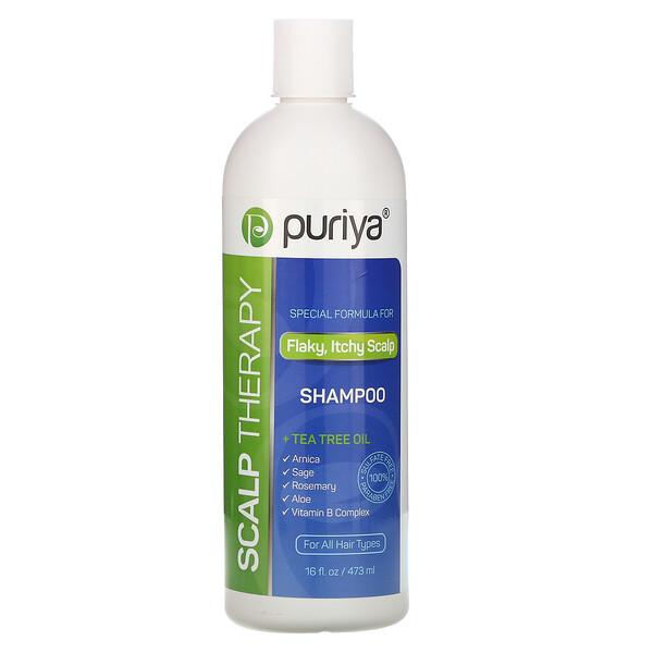 头皮护理洗发水,适用于所有头发类型,16 液量盎司(473 毫升)
