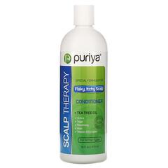 Puriya, 頭皮護理護髮素,適用於所有頭髮類型,16 液量盎司(473 毫升)