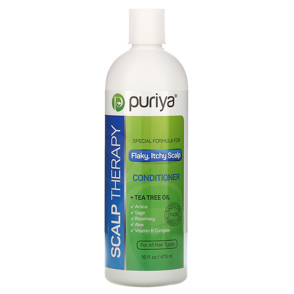 Scalp Therapy Conditioner, For All Hair Types, 16 fl oz (473 ml)