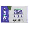 Pyure, Organic Granular Stevia Sweetener, Sugar Substitute, Keto, 80 Packets, 0.035 oz (1 g) Each