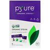 Pyure, Pacotes de Adoçante Granular de Estévia Orgânica, 80 Unidades, 80 g (2,82 oz)
