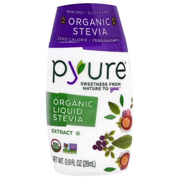 Pyure, Organic Liquid Stevia Extract, 0.9 fl oz (26 ml) (Discontinued Item)