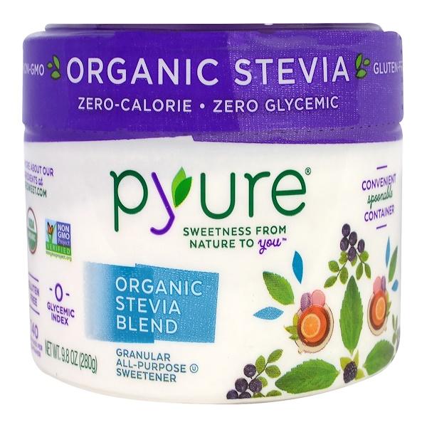 Pyure, Organic All-Purpose Blend, Stevia Sweetener, 9.8 oz (280 g) (Discontinued Item)