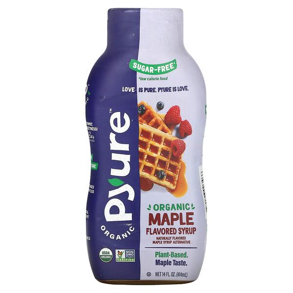 Organic Maple Flavored Syrup, Keto, 0 Sugar, 14 fl oz (414 ml)