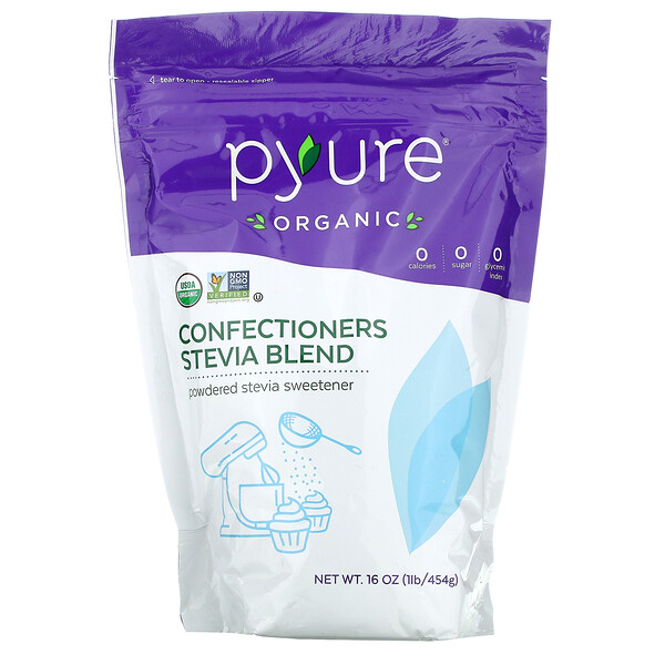 Pyure, Organic Confectioners Stevia Blend, 16 oz (454 g)