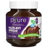 Pyure, Organic Hazelnut Spread with Cacao, 13 oz ( 369 g)