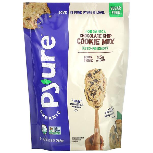 Organic Chocolate Chip Cookie Mix, Sugar-Free, 12.9 oz (368 g)