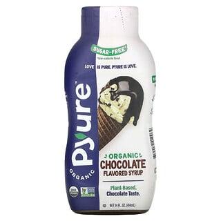 Pyure, Organic Chocolate Flavored Syrup, Keto, 0 Sugar, 14 fl oz (414 ml)