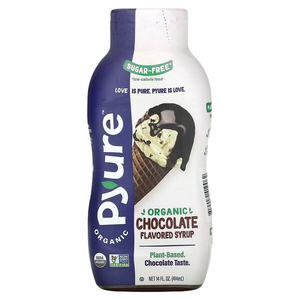 Organic Sugar-Free Chocolate Flavored Syrup, 14 fl oz (415 ml)