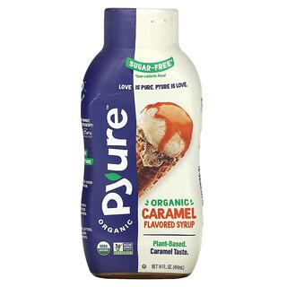 Pyure, Organic Caramel Flavored Syrup, Keto, 0 Sugar, 14 fl oz (414 ml)