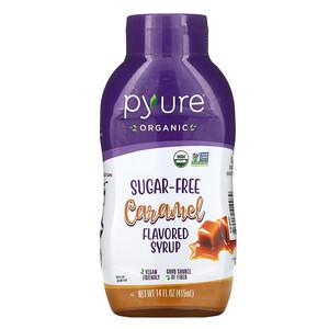 Пуре Брандс, Organic Sugar-Free Caramel Flavored Syrup, 14 fl oz (415 ml) отзывы