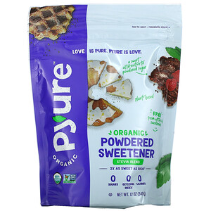 Pyure, Organic Powdered Sweetener, Stevia Blend, 12 oz (340 g)'