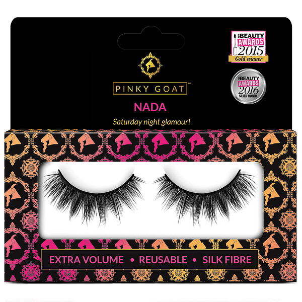 Nada, Extra Volume False Eyelashes, 1 Pair