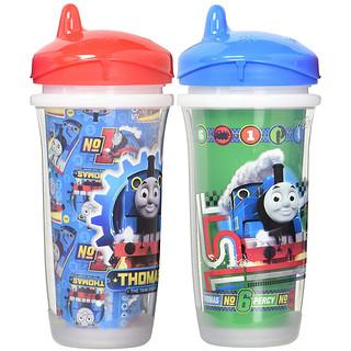 Playtex, Sipsters, Thomas & Friends, 12+ Months, 2 Cups, 9 oz (266 ml) Each