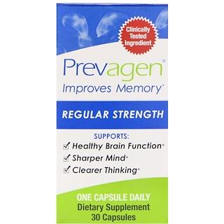 Prevagen (Quincy-Bioscience), Prevagen, Regular Strength, 30 Capsules