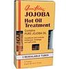 Queen Helene, Jojoba Hot Oil Treatment, 3 Resealable Tubes, 1 fl oz (30 ml) Each (Discontinued Item)