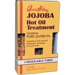 Квин Хелен, Jojoba Hot Oil Treatment, 3 Resealable Tubes, 1 fl oz (30 ml) Each отзывы покупателей