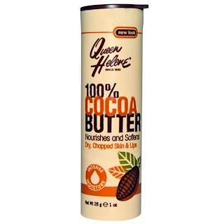 Queen Helene, 100% Cocoa Butter, Stick, 1 oz (28 g)