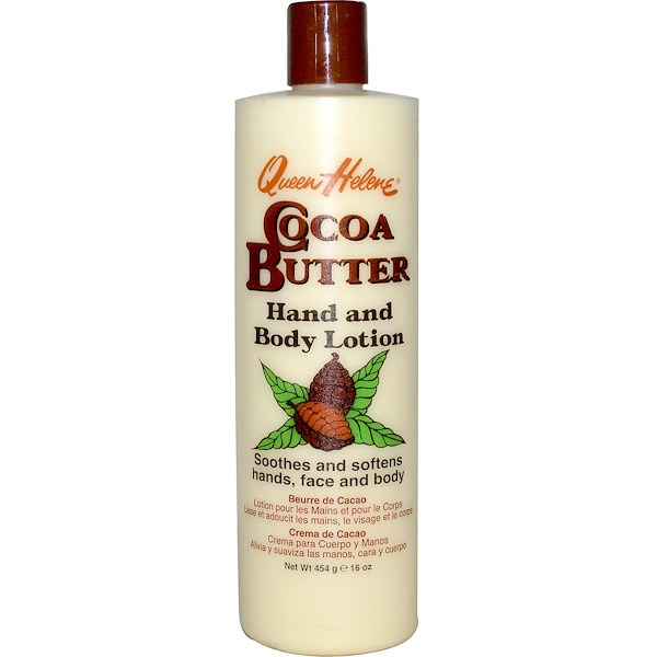 Queen Helene, Cocoa Butter, Hand and Body Lotion, 16 oz (454 g) (Discontinued Item)
