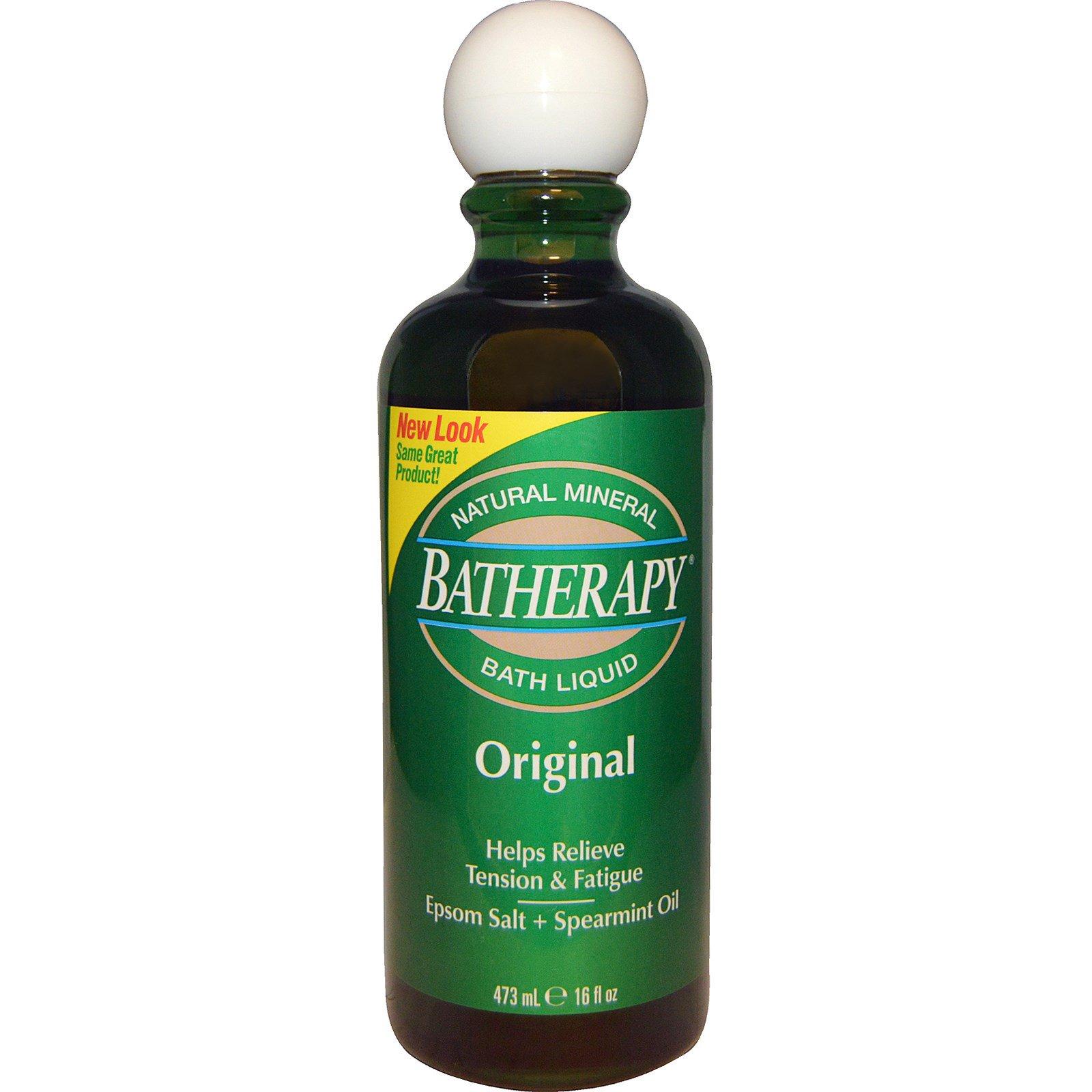 Queen Helene, Batherapy, Пена для ванны, Оригинальный продукт, 16 жидких унций (473 мл)