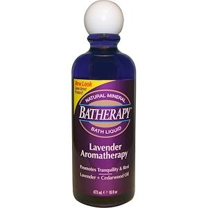 Квин Хелен, Batherapy Natural Mineral Bath Liquid, Lavender Aromatherapy, 16 fl oz (473 ml) отзывы