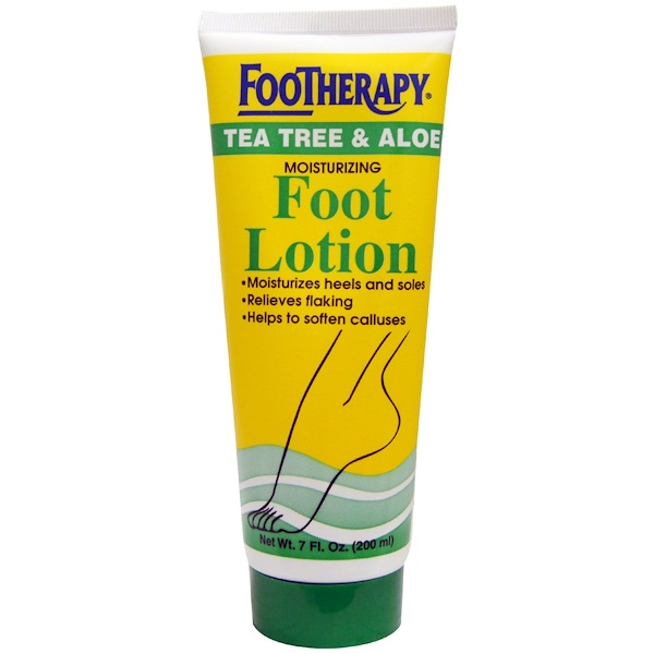 Queen Helene, FooTherapy, Moisturizing Foot Lotion, Tea Tree & Aloe, 7 fl oz (200 ml) (Discontinued Item)