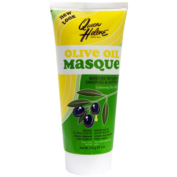 Queen Helene, Olive Oil Masque, Moisture Infusion, Extremely Dry Skin, 6 oz (170 g) (Discontinued Item)