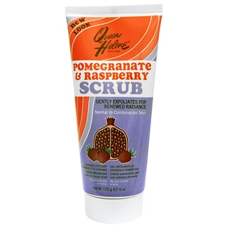 Queen Helene, Scrub, Normal to Combination, Pomegranate & Raspberry, 6 oz (170 g)